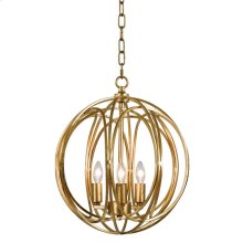 Ofelia Chandelier (gold Leaf) Medium