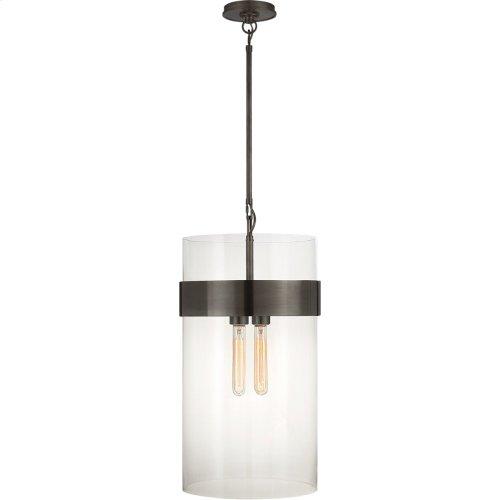 Visual Comfort S5674BZ-CG Ian K. Fowler Presidio 4 Light 7 inch Bronze Pendant Ceiling Light, Medium