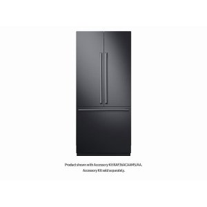 "Samsung21 cu ft. Capacity 3-Door French Door Panel Ready 36"" Built-In Chef Collection Refrigerator"