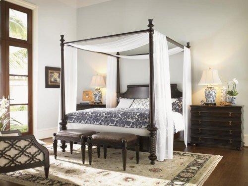 California King Diamond Head Bed