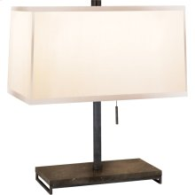 Visual Comfort BBL3030BZ-S Barbara Barry Philosophy 18 inch 60 watt Bronze Decorative Table Lamp Portable Light