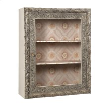 Ella Elaine Wall Shelf with Glass Door