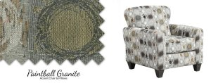 9001 Paintball Accent Chair