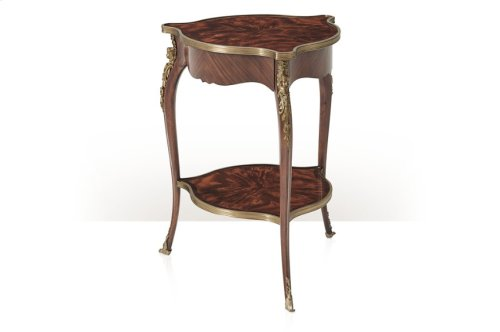 Louis Xv's Caryatids Side Table - Medium Sheen