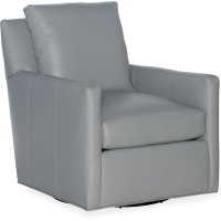 Bradington Young Jaxon Swivel Tub Chair 8-Way Tie 321-25SW Product Image