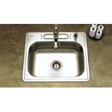 Topmount Single Bowl a2522-65bs