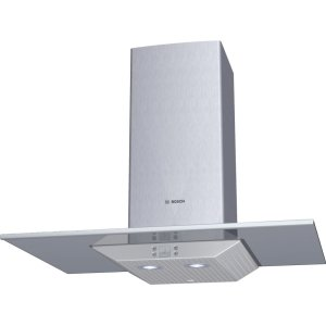"Bosch30"" Wall Mount Chimney Hood 800 Series - Glass Canopy DKE9605PUC"