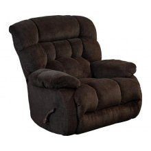 Chaise Rocker Recliner - Chocolate