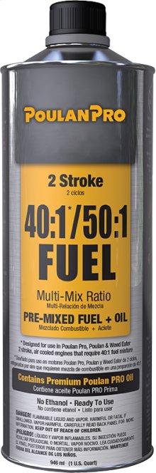 Poulan Pro Fuel Lubricants Pre-Mixed 2 Stroke Fuel & Oil