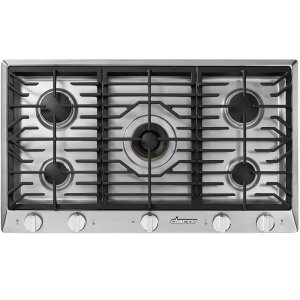 "DacorRenaissance 36"" Gas Cooktop, in Stainless Steel, Liquid Propane"