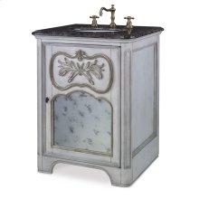 Laurel Petite Sink Chest - White