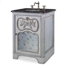 Laurel Petite Sink Chest - White