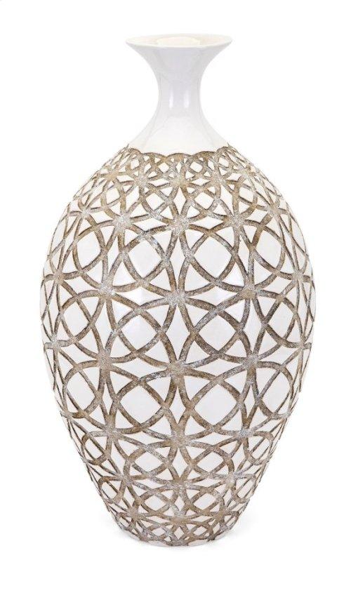 Kelsang Tall Earthenware Vase