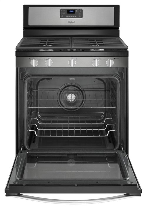 CLOSEOUT - 5.8 Cu. Ft. Freestanding Gas Range with Center Burner