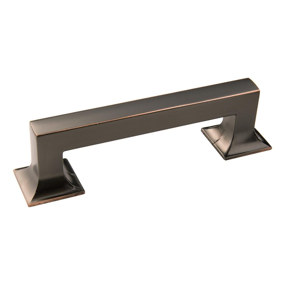 96mm Studio Collection Polished Nickel Cabinet Pull Hidden. Hickory Hardware  Logo