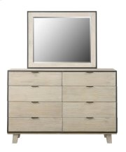 Emerald Home Synchrony 8 Drawer Dresser Washed Linen B112-01 Product Image
