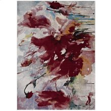 Blume Abstract Floral 4x6 Area Rug in Multicolored