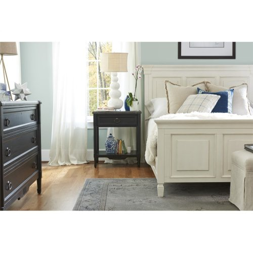 Queen Panel Bed - Cotton