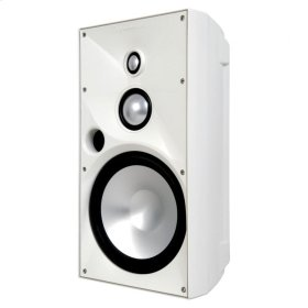OE8 Three White, Indoor/Outdoor Speaker