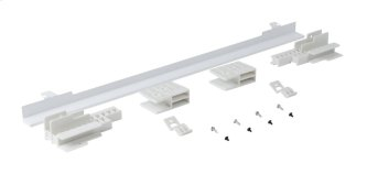 Built-In Oven Vent Trim Kit - White