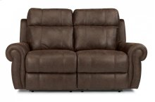 Forrest Fabric Power Reclining Loveseat with Power Headrests