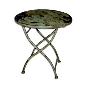 French Iron Round Table