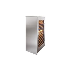 Integrated Stainless Steel Side Panel -