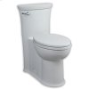 Bone Tropic Luxury Elongated Seat With Cover Complete With Top Mounting Hardware