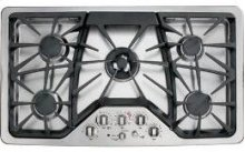 "36"" Built-In Deep-recessed Gas Cooktop"