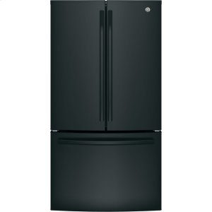 GE® ENERGY STAR® 27.0 Cu. Ft. French-Door Refrigerator - BLACK