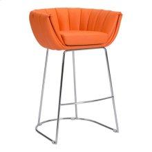 Latte Bar Chair Orange