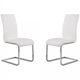 Amanda White Side Chair (Set Of 2)