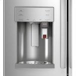 Ge Profile(tm) Series Energy Star(r) 22.1 Cu. Ft. Smart Counter-Depth Fingerprint Resistant French-Door Refrigerator With Keurig(r) K-Cup(r) Brewing System