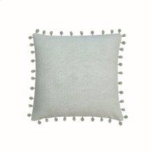 18X18 Hand Woven Lane Pillow Sage