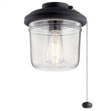 Yorke LED Outdoor Light Kit Distressed Black