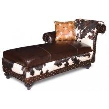 Ranch Hand Chaise With Concealed Weapon Storage