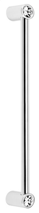 Contemporary Crystal Appliance Pull CD715-8 - Polished Chrome Product Image