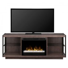 Leif Media Console Electric Fireplace