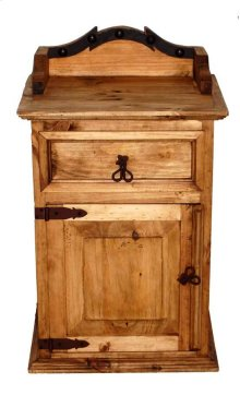 Alamo Iron Night Stand
