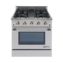 "NXR 30"" Professional Range with Four Burners, Convection Oven, Propane Gas (DRGB3001-LP)"