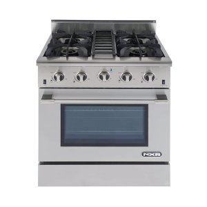 "NXRNXR 30"" Professional Range with Four Burners, Convection Oven, Natural Gas (DRGB3001)"