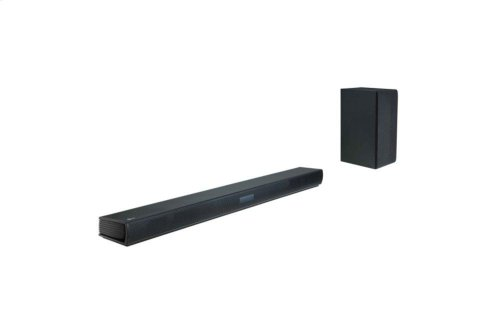 2.1ch 300W Sound Bar with Wireless Subwoofer and Bluetooth® Connectivity