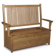 Prairie Mission Storage Bench