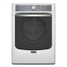 Maytag® Maxima® Steam Gas Dryer with Large Capacity and Stainless Steel Dryer Drum - 7.3 cu. ft. - White