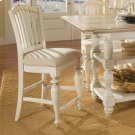 Mix-n-match Chairs - Counter Height Upholstered Chair - Dover White Finish Product Image