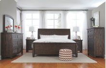 Trudell - Dark Brown 5 Piece Bedroom Set