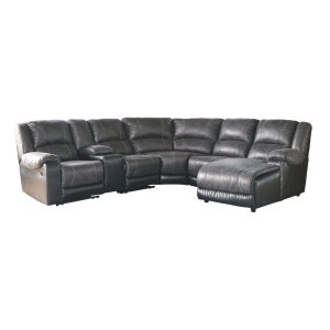 AshleySIGNATURE DESIGN BY ASHLEYNantahala 6-piece Reclining Sectional With Chaise