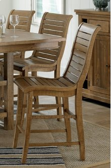 Counter Chair - Distressed Pine Finish