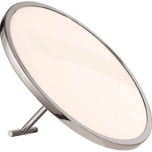 Visual Comfort PB3000PN Peter Bristol Dot 10 inch 18 watt Polished Nickel Accent Lamp Portable Light