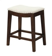 """Emerald Home Rancho Barstool 24"""" Beige Seat W/ Brown Legs D50-27-09 Product Image"""